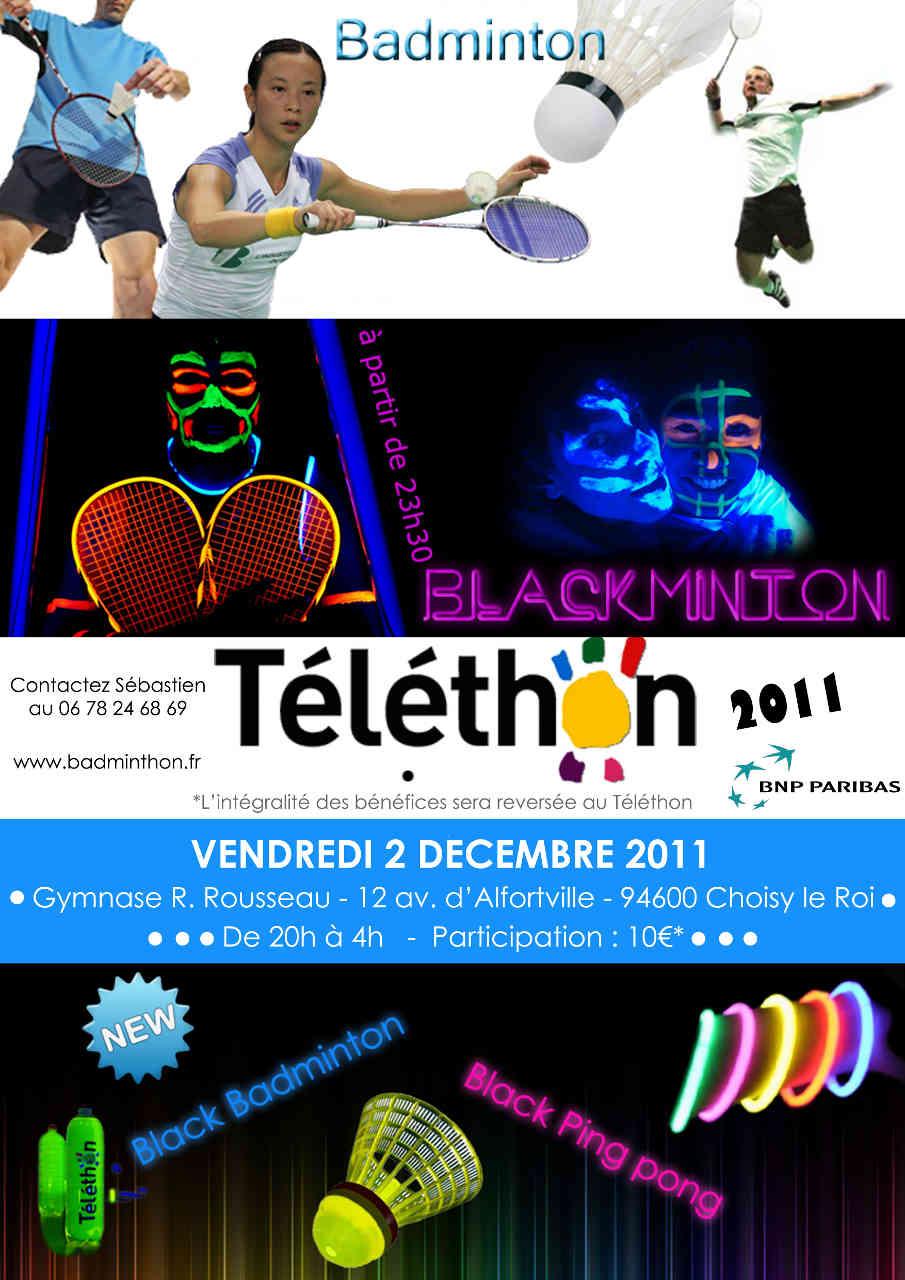 Flyer Choisy Téléthon 2011